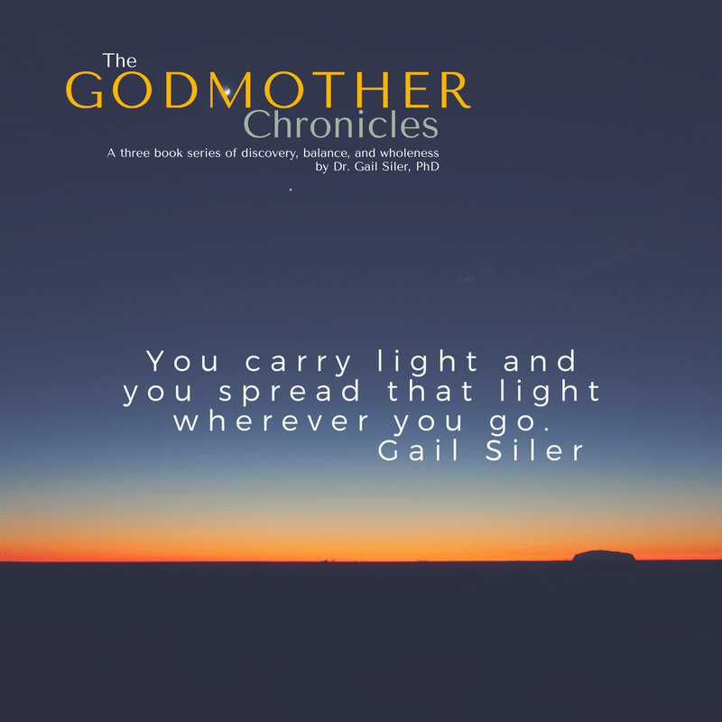You carry light